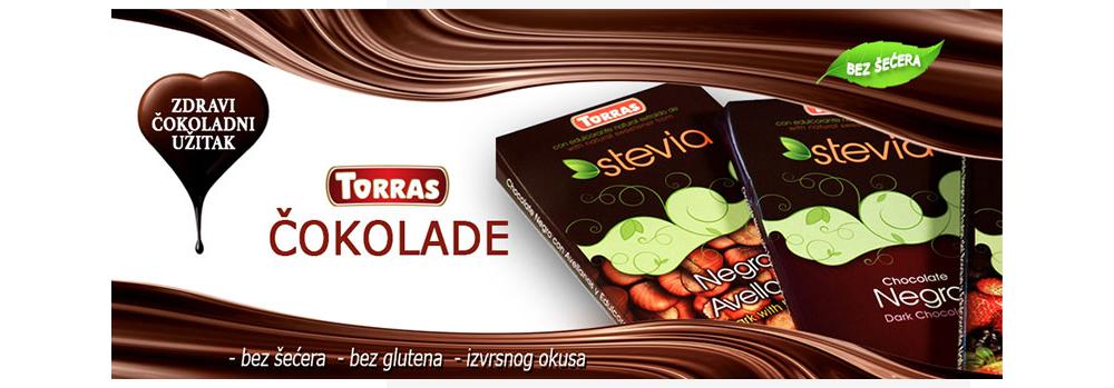 Novo u ponudi – Torras čokolade